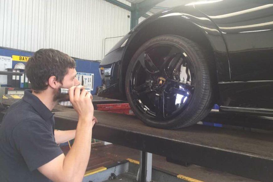 Lamborghini Murcielago MOT – Fleetcare Stockport, Manchester