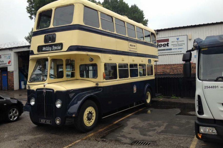 Show Bus Mot  – Class 5 Mot Stockport